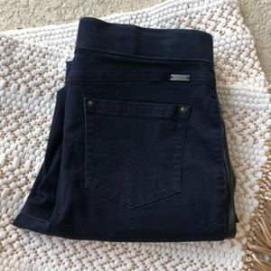 I.N.C. Faux leather black pants Jean back 12